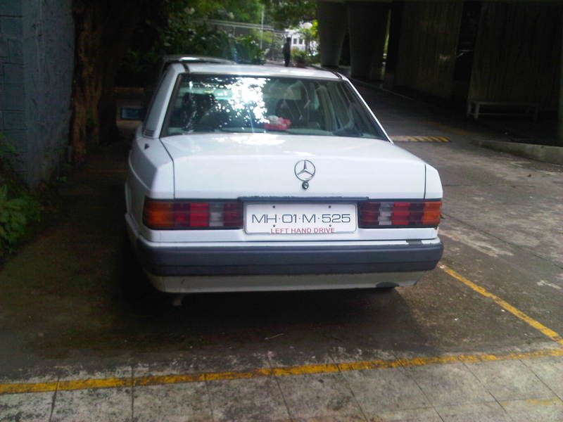 Mercedes benz 190d maharashtra cars for sale used for Mercedes benz for sale in india