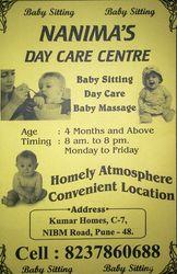 Nanis baby day care nibm kondhwa.