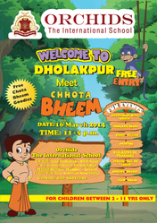 Picnic with Chota Bheem  march 16th with orchids international school