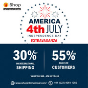 Independence Day America 4th July Offer - Ishopinternational