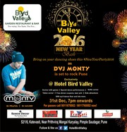 New Year's eve in Pimple Saudagar at Hotel Bird Valley,  Pune