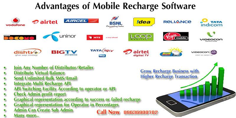 Multi Mobile Recharge Software Company Jaipur - Maharashtra