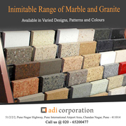 Premium Quality Marble,  Granite and Natural stone at Adi Corporation