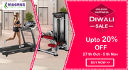 Save Upto 20% Off on Home Gyms Online Diwali Unleash Happiness Sale