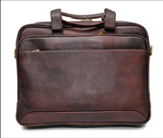 Look stylish with the genuine leather laptop bags for men