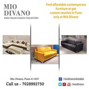 Beautiful designer Sofa for your Living Room by Mio Divano