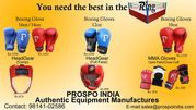 BOXING EQUIPMENT MANUFACTURER