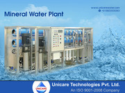 Mineral Water Plant Manufacturer-Company India   Unicare Technology