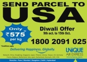 Send Diwali Parcels to USA with EMOTION EXPRESS