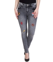 Stylish Faded Grey Jeans at ShoppyZip