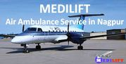 Get Private Charter Air Ambulance Service in Nagpur by Medilift