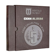 Buy Mintage Coin Collection Album for 5 Rupees Definitive Coins Online