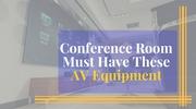 AV equipments for Conference room | Synkomtech