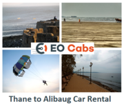 Book Thane to Alibaug Car Rental Online.
