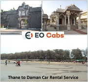 Hire Thane to Daman car rental online