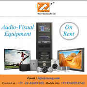 Audio visual Equipment Rental services
