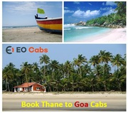 Thane to Goa Car Rental - Taxi Service. Hire Cabs from Thane.