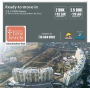 2.5 BHK Flats For Sale in Three Jewels At Katraj Kondhwa Road