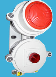 Flameproof Hooter With Flasher