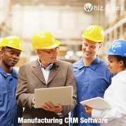 CRM software for manufacturing industry - Whizsales