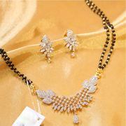 Stylish American Diamond Mangalsutra at Lowest Price
