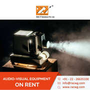 Audio Visual Equipment On Rent from Racwgitsolution