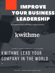 lead your company in the world - kwithme
