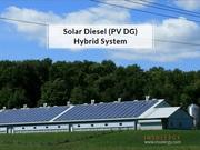 Insolergy Solar diesel hybrid power system