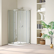 Custom,  Sliding,  Frameless Glass Shower Doors,  Enclosure,  Cubicle