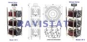 Single Phase Flush Panel Mounting | Open Type Variable Transformer