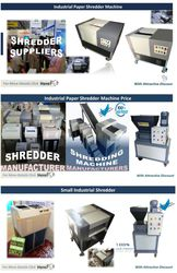 Industrial Paper Shredder Machine | Industrial Paper Shredder