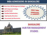 Management Colleges in Bangalore and Pune