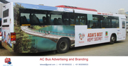 Ac Bus Branding Advertising Thane Navi Mumbai| Bus Ads Mumbai