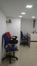 177 sq.ft. Semi-Furnished Office on Rent in Raghuleela Mall Area : 177