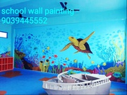 School Wall Painting Artist Mumbai, PlaySchool Painting Works in Mumbai