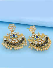 Online Fashion Earring Designs For Women | Anuradha Art Jewellery