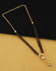 Buy Online Fancy Short & Mini Mangalsutra | Anuradha Art Jewellery