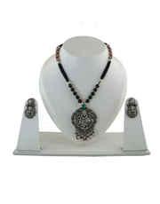 Oxidised Jewellery & Black Metal Silver Jewellery Online at Anuradha