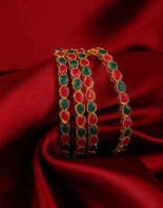 Diamond Bangles Online For Women in India | Anuradha Art Jewellery