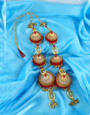 Buy Punjabi Bridal Kalira Online For Women in India | Anuradha Art