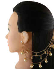 Shop Traditional Matilu & Bahubali Ear Chain Online at Anuradha Art