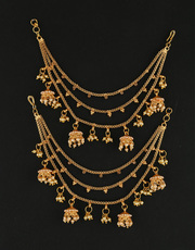 Check out Latest Design of Ear Chain and Get the Best Discount
