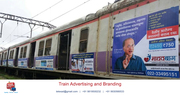 Railway Branding Mumbai Thane| Full Train Branding Advertising