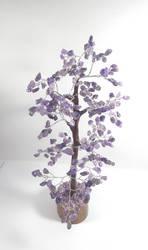 Amethyst gem tree size 12-14 inch chakra balancing reiki at Mirraw