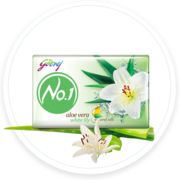 Best Skin Moisturizing Soap with Aloe Vera & White Lily – Godrej No.1