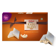 Buy Prabhuji Haldiram Kaju Barfi * 350 g Online @ INR 375