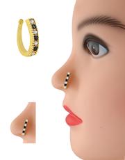 Buy an Exclusive designer Bridal Nose Ring,  Nose ring online