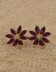 Buy Ear Tops Design Online at Lowest Price | Anuradha Art Jewellery