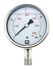 Glycerin Filled Pressure Gauges Manufacturer and Supplier in Mumbai