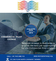METROJET AIRWAYS-Commercial Pilot License in India